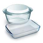 стеклянная жаропрочная посуда