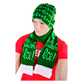 шапки и комплекты с шарфом на корпоратив