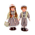 интерьерные сувенирные коллекционные куклы в наборах