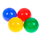 шары для сухого бассейна для детских садов