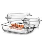 наборы посуды из жаропрочного стекла