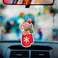 аксессуары автомобилей для нового года