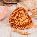 сувенирные заколки и украшения из бересты