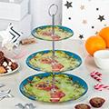 новогодние кухонные подставки для пирожных