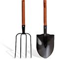 большие садовые инструменты