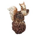 интерьерные сувенирные фигурки зверят