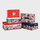 новогодние упаковки для подарков