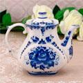 сувенирные чайники с гжелью российских поставщиков