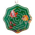 сувенирные брелоки головоломки из пластика и стекла