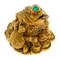 нэцкэ и статуэтки жаб из бронзы