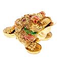 золотые жабы в нэцкэ