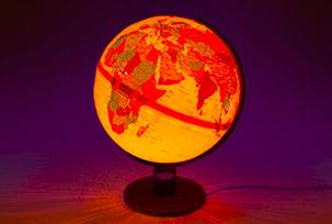 Глобусы-светильники