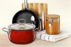 Посуда по материалам