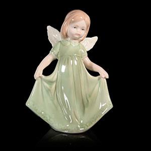 ангел в зелёном