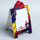 """Блок с отрывными листами на подставке """"Мои суперидеи"""", Человек-Паук, 30 листов"""