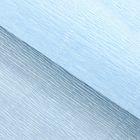 Бумага гофрированная 959 нежно-голубая, 50 см х 2,5 м