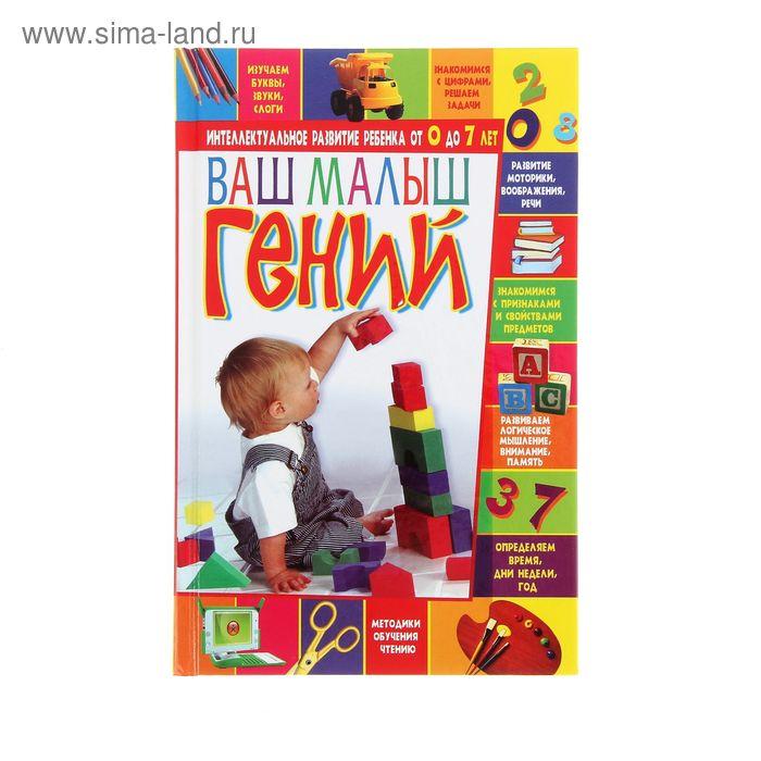 """Книга """"Ваш малыш-гений"""" Интеллектуальное развитие ребенка от 0 до 7 лет. 288стр"""