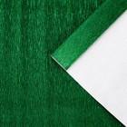 """Бумага гофрированная, 804 """"Зелёный, металл"""", 0,5 х 2,5 м"""