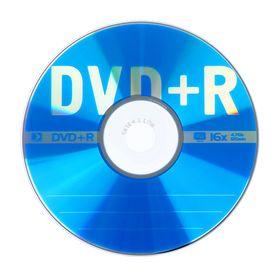 Диск DVD+R Data Standard, 16x, 4,7 Гб, Конверт, 1 шт