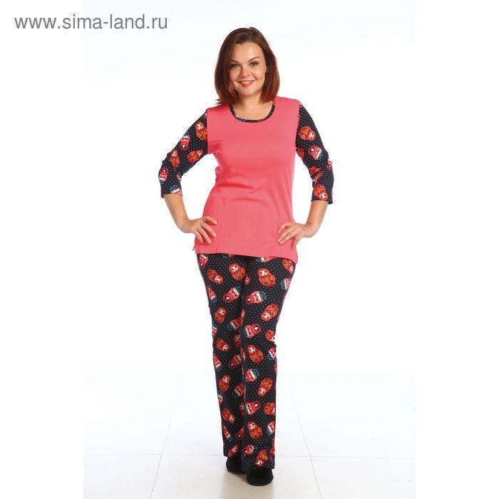 Пижама женская 221И1651, р-р 54 (108)  МИКС