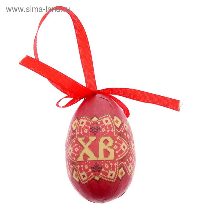 """Яйцо-подвеска пасхальное """"Христос Воскресе!"""""""