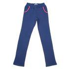 Брюки спортивные для девочки, рост 164 см (84), цвет темно-синий 152180