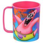 """Чашка 325 мл """"Губка Боб"""", цвет розовый 3D"""