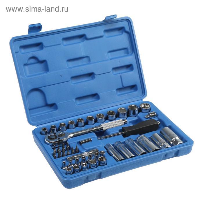 Набор инструмента TUNDRA comfort, универсальный в кейсе 44 предмета
