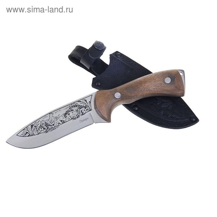 """Нож туристический """"Глухарь"""" - 50431, сталь AUS8, г. Кизляр"""