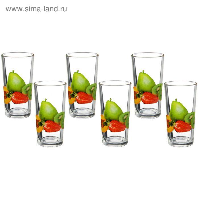 "Набор стаканов 200 мл ""Ассорти"", 6 шт"