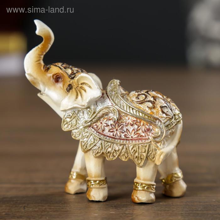 """Сувенир """"Слон цветочный"""""""