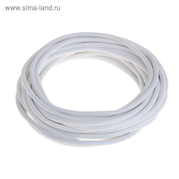 """Провод """"ГОСТок"""" ПВСн, сечение 2х0.75 мм2, 10 м, белый"""