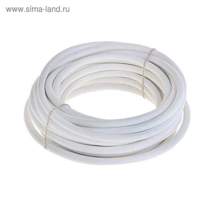 """Провод """"ГОСТок"""" ПВСн, сечение 2х2.5 мм2, 10 м, белый"""