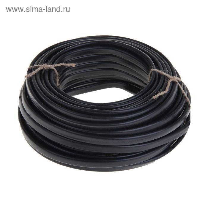 """Кабель """"ГОСТок"""" IEC ВВГ-Пнг(A), сечение 3х2.5 мм2, 50 м, чёрный"""