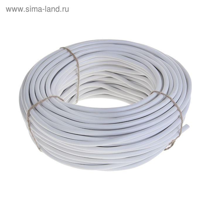 """Провод """"ГОСТок"""" ПВСн, сечение 2х1.5 мм2, 100 м, белый"""