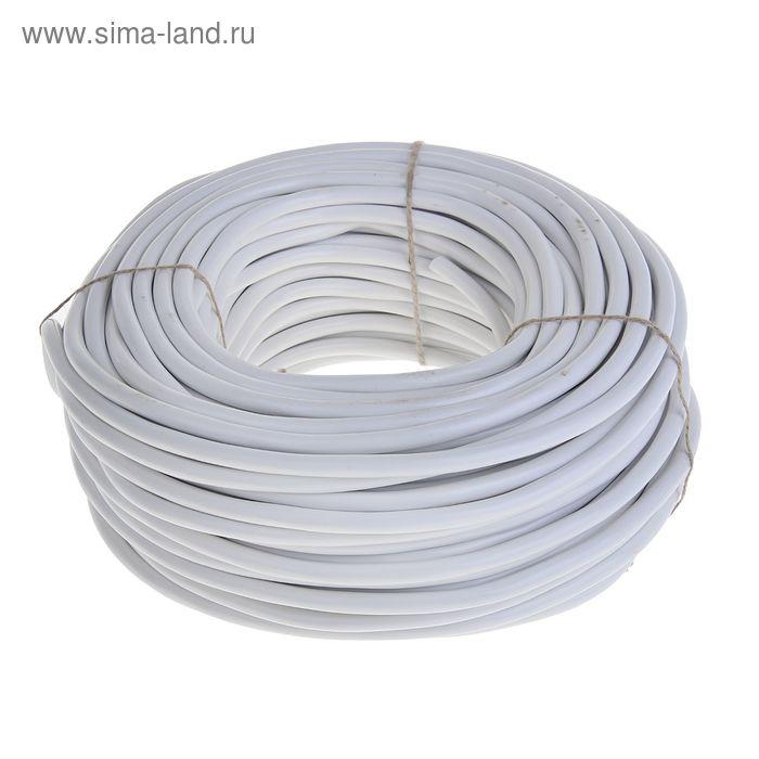 """Провод """"ГОСТок"""" ПВСн, сечение 2х2.5 мм2, 50 м, белый"""