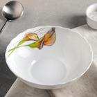 "Тарелка суповая 600 мл ""Дивные каллы"" 18х5 см"