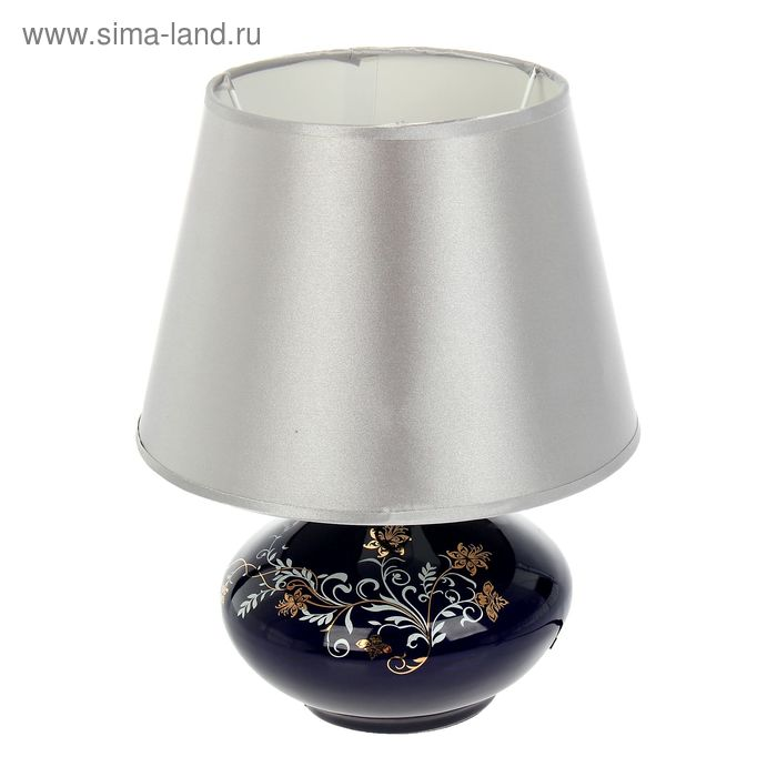 """Лампа настольная абажур """"Лазурь"""""""