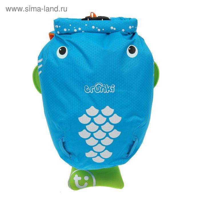 """Рюкзак для бассейна и пляжа """"Рыбка Боб"""", голубой"""