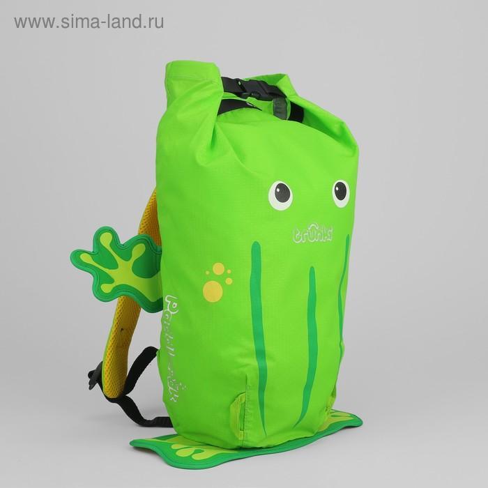 """Рюкзак для бассейна и пляжа """"Лягушка"""", зелёный"""