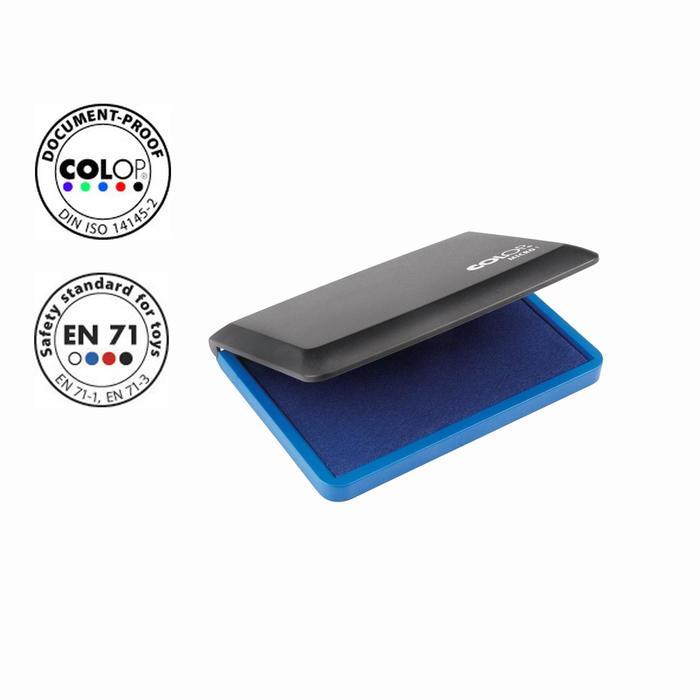 Настольная штемпельная подушка Colop 50*90мм, синяя