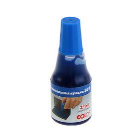Штемпельная краска синяя 25мл Colop 801/25