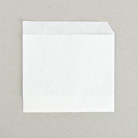 Пакет бумажный фасовочный, «Уголок», из жировлагостойкой бумаги 14 х 14 см Ош