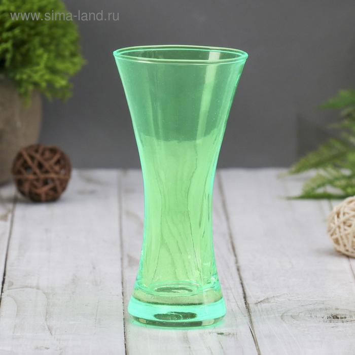 """Ваза """"Весна"""" зелёная, 0,08 л"""