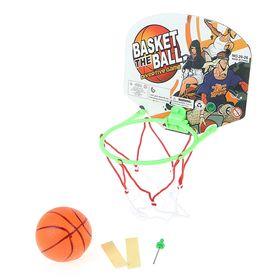 Баскетбольный набор 'Супербросок', с мячом, МИКС Ош
