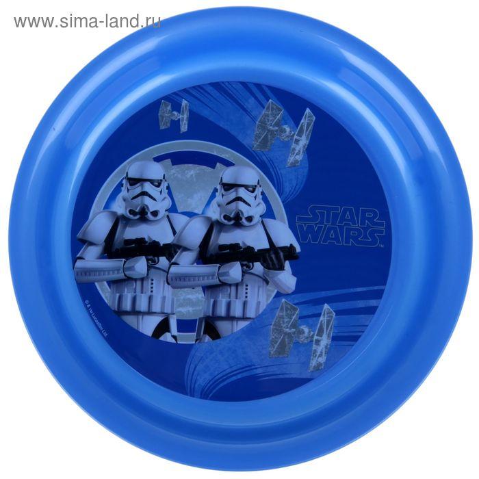 """Тарелка 19 см """"Звёздные Войны. Штурмовики"""", цвет синий"""