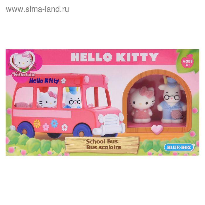"""Игровой набор """"Школьный автобус"""" Hello Kitty"""