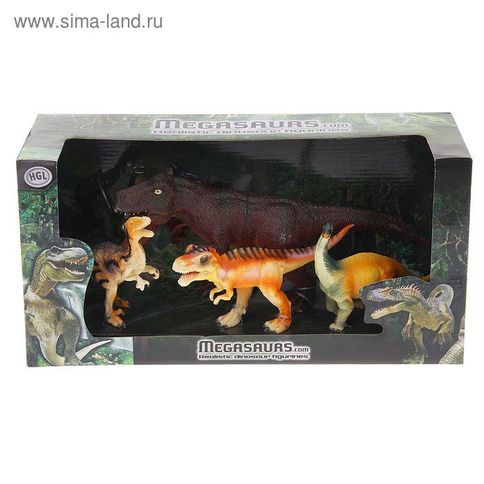 """Игровой набор """"Динозавры"""", 6 фигурок, МИКС"""