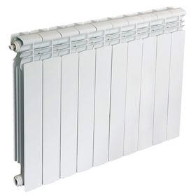 Радиатор Oasis LD/500/70/10, алюминиевый, межосевое 500, глубина 70, 10 секций