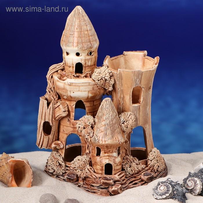 """Декорации для аквариума """"Замок"""" малый"""
